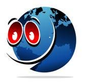усмешка глобуса Стоковые Фото
