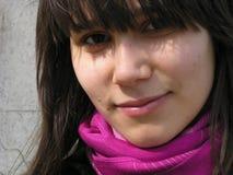 усмешка девушки Стоковая Фотография RF