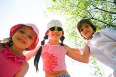 усмешка детей Стоковое Фото