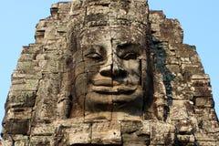 усмешка Камбоджи Стоковые Изображения