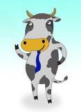 усмешка коровы Стоковое Изображение