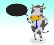 усмешка коровы иллюстрация вектора