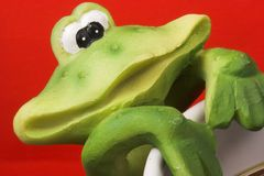 усмешка лягушки Стоковая Фотография