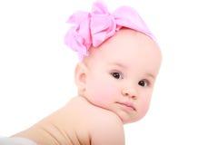 усмешка младенца Стоковые Фото