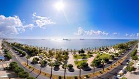 усмешка моря панорамы Стоковая Фотография