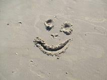Усмешка на пляже Стоковые Фотографии RF