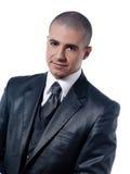 усмешка портрета человека бизнесмена жизнерадостная Стоковая Фотография