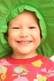 усмешка ребенка Стоковое Изображение