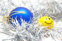 усмешка рождества baubles Стоковое Изображение