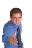 усмешка рукопожатия Стоковые Фотографии RF