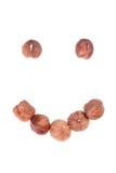 усмешка стороны сделанная hazel стоковые изображения rf