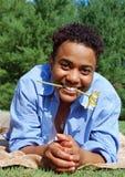 усмешка цветка Стоковое фото RF