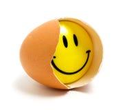 усмешка яичка Стоковые Фото