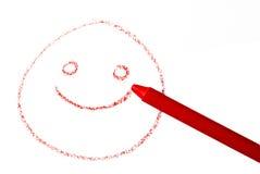 усмешка crayon Стоковая Фотография