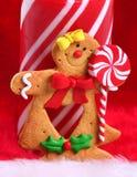 усмешка gingerbread Стоковое Изображение