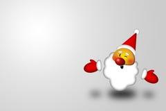 усмешка santa Стоковое Изображение RF