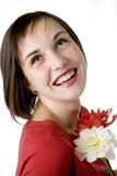 усмешка toothy Стоковое Изображение