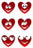 Усмешки влюбленности милые Стоковые Изображения RF