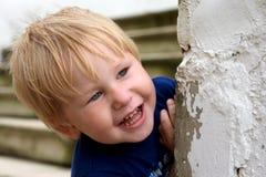 усмешки ребенка Стоковые Фотографии RF