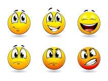 усмешки шариков иллюстрация вектора
