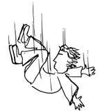 уснувший падать Стоковая Фотография