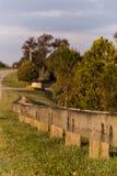 Усовик тимберса вдоль шоссе - Парижа Pike, центрального Кентукки Стоковое Изображение