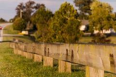 Усовик тимберса вдоль шоссе - Парижа Pike, центрального Кентукки Стоковое фото RF