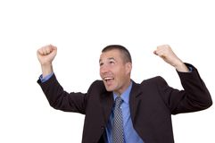успех бизнесмена Стоковое Изображение