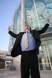 успех бизнесмена Стоковое фото RF