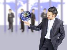 успех бизнесмена стоковые фото