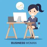 Успех бизнес-леди Стоковые Фотографии RF