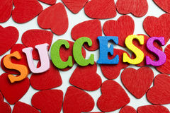 Успех влюбленности Стоковое Изображение RF