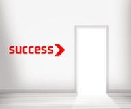 успех двери к Стоковое фото RF