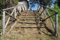успех лестниц иллюстрации принципиальной схемы 3d деревянный Стоковые Фото