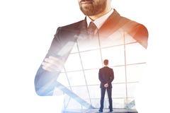 Успех, занятость и концепция рабочего места стоковые изображения rf