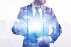 Успех и концепция исполнительной власти Стоковое фото RF