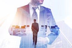 Успех и концепция исполнительной власти Стоковое Изображение