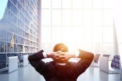 Успех и концепция исполнительной власти Стоковая Фотография RF