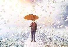 Успех и финансовая концепция роста стоковые фотографии rf