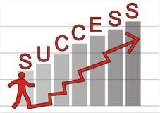 успех к путю Стоковая Фотография RF