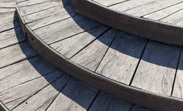 успех лестниц иллюстрации принципиальной схемы 3d деревянный Стоковые Изображения