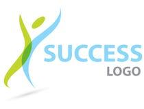 успех логоса Стоковая Фотография