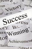 успех принципиальной схемы Стоковое Изображение
