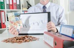 успех принципиальной схемы финансовохозяйственный Стоковые Изображения RF