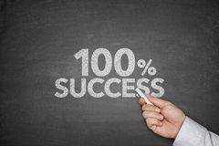 успех 100 процентов Стоковое Изображение