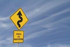 успех путя к Стоковое Изображение RF