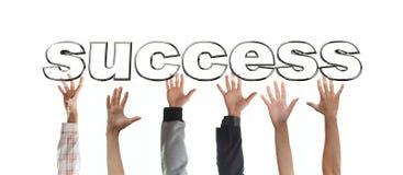успех самосхвата Стоковое Изображение