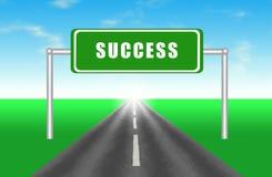 успех дороги к Стоковые Изображения RF