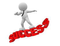 Успех Стоковое Изображение RF