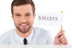 Успех! стоковые изображения